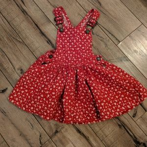 The Children's Place Corduroy Overall Dress 👗